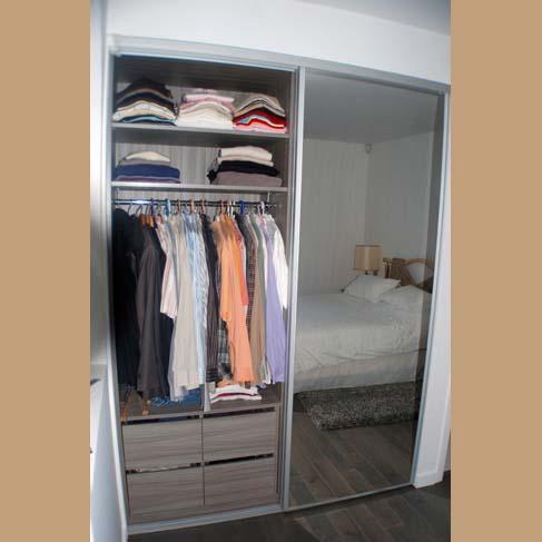 dressing coulissant. Black Bedroom Furniture Sets. Home Design Ideas
